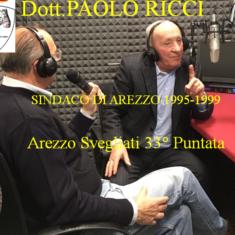 """Il dott. Paolo Ricci ospite di """"Arezzo Svegliati"""""""