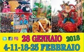 479° Carnevale di Foiano – Fly Live con Massimo Di Chiara venerdì 9 febbraio ore 10.00