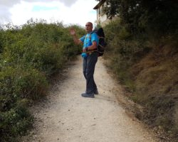 Il Cammino di Santiago attraverso la forza di volontà di Mauro Calderini