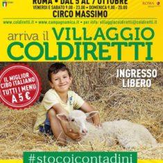 Il Direttore Mario Rossi parla del Villaggio Coldiretti a Roma