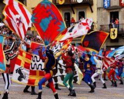 Fly_Live con gli Sbandieratori di Arezzo 25 Agosto ore 11.00