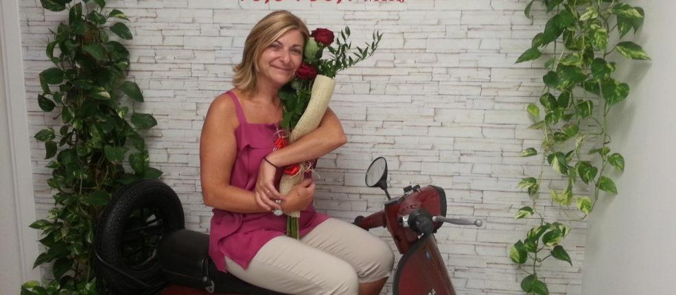 La nostra editrice Rossella Peruzzi