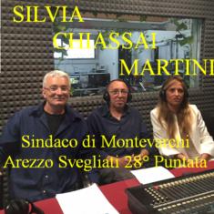 """""""Arezzo Svegliati"""" 28° Puntata – parla il Sindaco di Montevarchi Silvia Chiassai 05 Ottobre ore 11.00"""