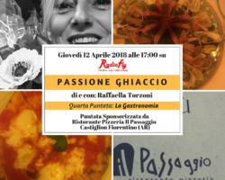 """""""Passione Ghiaccio La Gastronomia"""" – Quarto appuntamento con Raffaella Torzoni giovedì 12 aprile ore 17.00"""