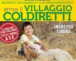 #IOSTOCOICONTADINI, Coldiretti Arezzo al 'Villaggio' che porta la campagna nel cuore di Roma