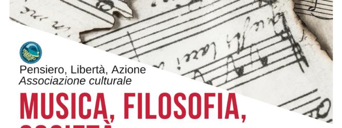 Nello spazio interviste di FlyMug, Luca Pantaleone presenta 'Musica, Filosofia, Società', mercoledì 13 febbraio, ore 9.35