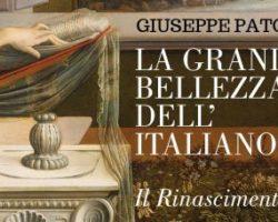 Speciale Libriamoci, 'La grande bellezza dell'italiano. Il Rinascimento', mercoledì 20, ore 11.05