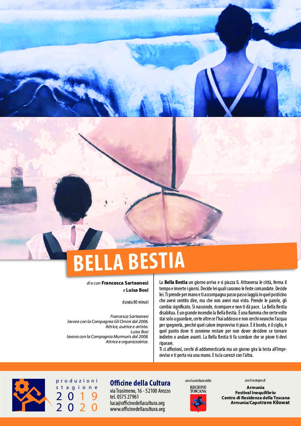 'Bella Bestia', martedì 25 giugno, ore 9.35