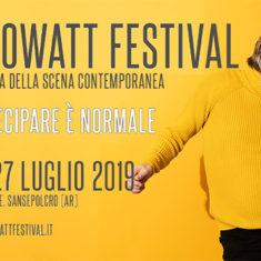 LUCA RICCI COMMENTA L'EDIZIONE 2019 DI KILOWATT FESTIVAL A SANSEPOLCRO