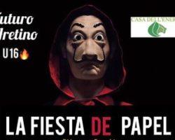 'La Fiesta De Papel', martedì 22 ottobre, ore 9.35
