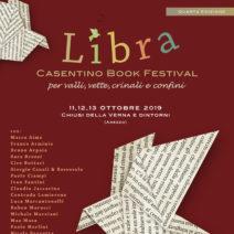 'Libra Book Festival' dall'11 al 13 ottobre in Casentino