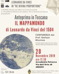 Il Mappamondo di Leonardo, lunedì 18 novembre, ore 10.05