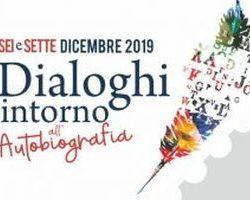 'Dialoghi intorno all'autobiografia', venerdì 6 dicembre, ore 9.15