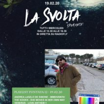 #LaSvolta puntata del 19 febbraio '20