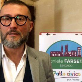 """Il Candidato a Sindaco della lista Patto civico per Arezzo Daniele Farsetti su """"Punto di Vista"""""""