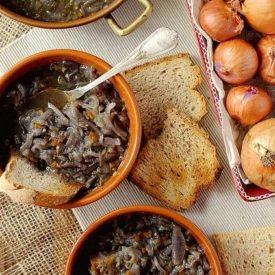 La cipollata di Dante la ricetta dei 'Racconti in Cucina' di Antonietta Milani