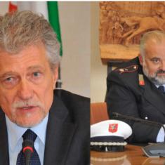 """Il Sindaco Alessandro Ghinelli e il Comandnate a.i. VV.UU Poponcini sul nuovo decreto """"io resto a casa"""""""