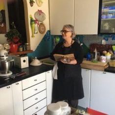 'Racconti in Cucina' di Antonietta Milani: Spuma di baccalà su crostini di pane'