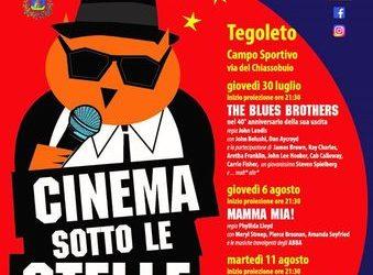 'Cinema sotto le Stelle', giovedì 22 luglio ore 9.35