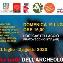 Le Notti dell'Archeologia a Pratovecchio-Stia
