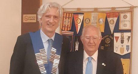 Gilberto Cristofoletti, Presidente Rotary Club Arezzo Est, lunedì 6 luglio, ore 9.35
