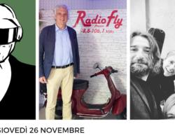 """""""Mr. Robot"""", """"Giornata Nazionale della Colletta Alimentare 2020"""", """"Come a Casa"""" e molto altro… le anticipazioni e gli ospiti di FlyMug,giovedì 26 novembre"""