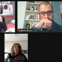 "100% ITALIA LIVE: Francesco 'Fry' Moneti presenta a RadioFly il suo primo disco solista ""Cosmic Rambler"""