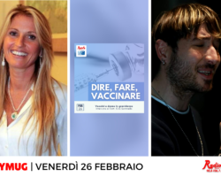 """""""Intervista a Silvia Chiassai Martini"""", """"Dire, Fare, Vaccinare"""", """"Alex Banelli protagonista sul palco di Casa Sanremo""""e molto altro… le anticipazioni e gli ospiti di FlyMug, venerdì 26 febbraio"""