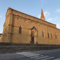 I Lions illuminano la Cattedrale di Arezzo