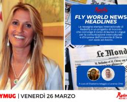 """""""Spazio istituzionale con il Presidente della Provincia"""", """"Fly World News Headlines"""" e molto altro… le anticipazioni e gli ospiti di venerdì 26 marzo"""