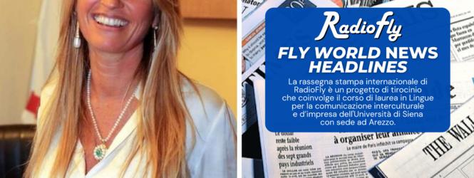 """""""Spazio istituzionale con il Presidente della Provincia"""", """"Fly World News Headlines"""" e molto altro… le anticipazioni e gli ospiti di FlyMug, venerdì 9 aprile"""
